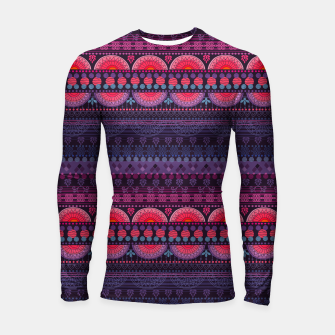 Thumbnail image of Tribal Pattern - 01 Sunset Longsleeve rashguard , Live Heroes