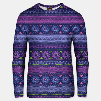 Thumbnail image of Tribal Pattern - 02 Violet Unisex sweater, Live Heroes