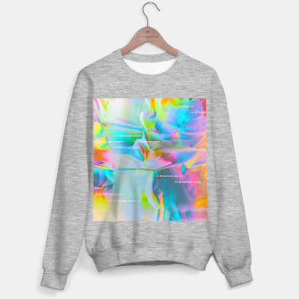 Thumbnail image of we all have our reason Sweater regular, Live Heroes