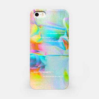 Thumbnail image of we all have our reason iPhone Case, Live Heroes