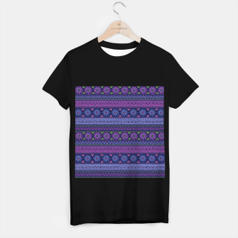 Thumbnail image of Tribal Pattern - 02 Violet T-shirt regular, Live Heroes