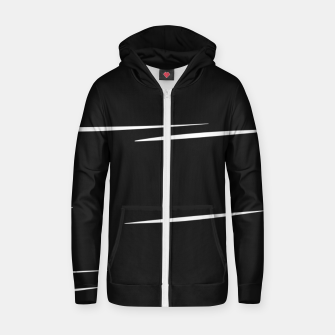 Thumbnail image of Nail Movement Zip up hoodie, Live Heroes