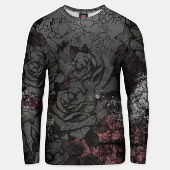 Thumbnail image of Cemetery of roses Unisex sweater, Live Heroes