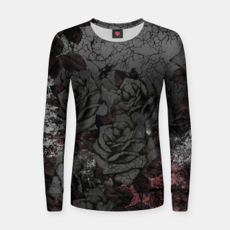 Thumbnail image of Cemetery of roses Women sweater, Live Heroes
