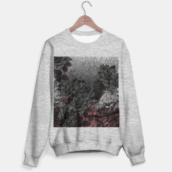 Thumbnail image of Cemetery of roses Sweater regular, Live Heroes