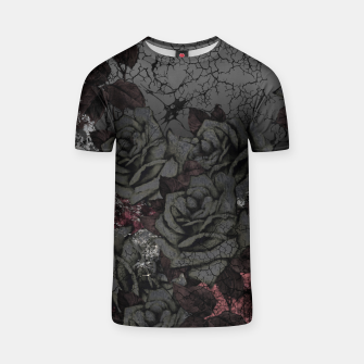 Thumbnail image of Cemetery of roses T-shirt, Live Heroes