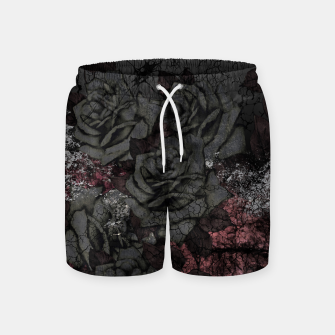 Thumbnail image of Cemetery of roses Swim Shorts, Live Heroes