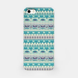 Thumbnail image of Tribal Pattern - 03 Light Blue iPhone Case, Live Heroes