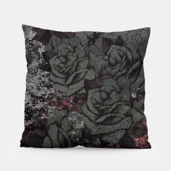 Thumbnail image of Cemetery of roses Pillow, Live Heroes