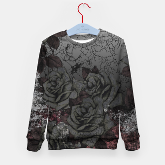 Thumbnail image of Cemetery of roses Kid's sweater, Live Heroes
