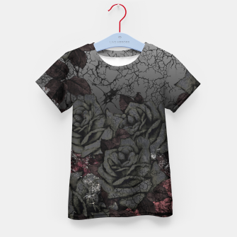 Thumbnail image of Cemetery of roses Kid's t-shirt, Live Heroes