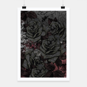 Thumbnail image of Cemetery of roses Poster, Live Heroes