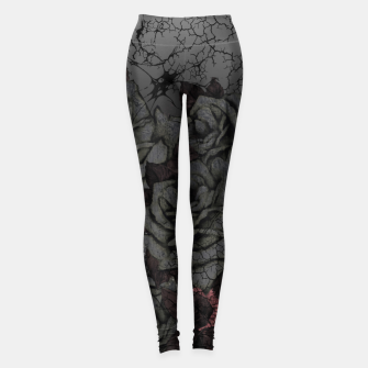 Thumbnail image of Cemetery of roses Leggings, Live Heroes