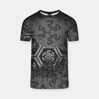 Thumbnail image of Wicked Mind, Snake witch pattern T-shirt, Live Heroes