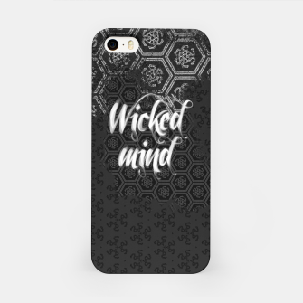 Thumbnail image of Wicked Mind, Snake witch pattern iPhone Case, Live Heroes