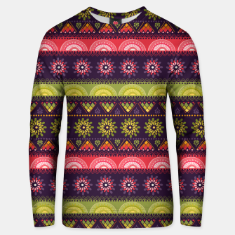 Thumbnail image of Tribal Pattern - 05 Lime Red Unisex sweater, Live Heroes