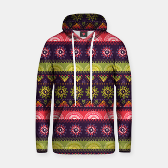 Thumbnail image of Tribal Pattern - 05 Lime Red Hoodie, Live Heroes