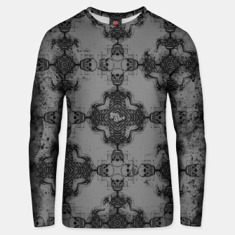 Thumbnail image of Skull cross, Gothic Metal Pattern Unisex sweater, Live Heroes