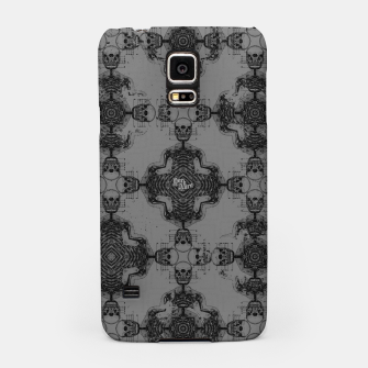 Thumbnail image of Skull cross, Gothic Metal Pattern Samsung Case, Live Heroes
