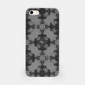 Thumbnail image of Skull cross, Gothic Metal Pattern iPhone Case, Live Heroes