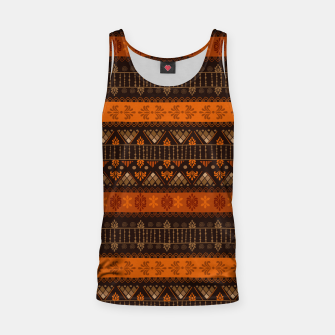 Thumbnail image of Tribal Pattern - 06 Tangerine Dream Tank Top, Live Heroes