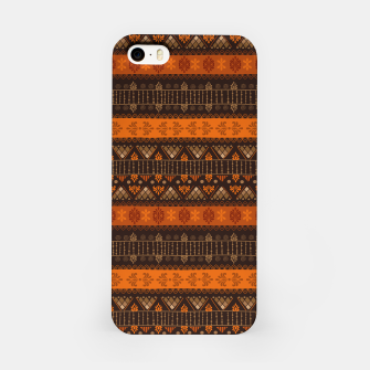 Thumbnail image of Tribal Pattern - 06 Tangerine Dream iPhone Case, Live Heroes
