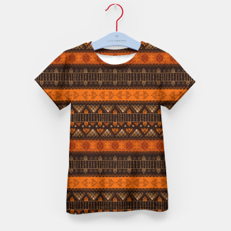 Thumbnail image of Tribal Pattern - 06 Tangerine Dream Kid's t-shirt, Live Heroes
