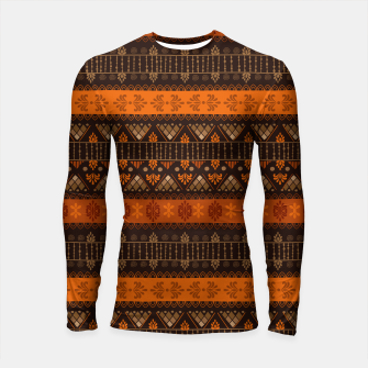 Thumbnail image of Tribal Pattern - 06 Tangerine Dream Longsleeve rashguard , Live Heroes