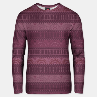 Thumbnail image of Tribal Pattern - 07 Burgundy Unisex sweater, Live Heroes