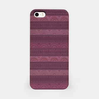 Thumbnail image of Tribal Pattern - 07 Burgundy iPhone Case, Live Heroes