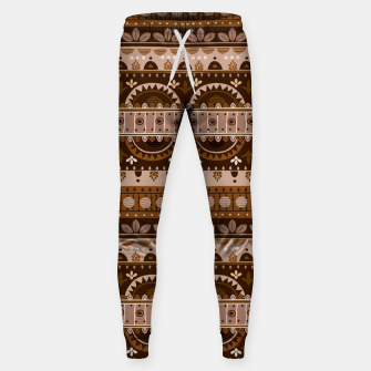 Tribal Pattern - 09 Light Brown Sweatpants thumbnail image
