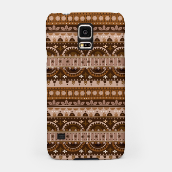 Tribal Pattern - 09 Light Brown Samsung Case thumbnail image