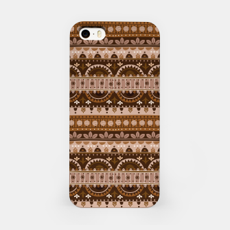 Tribal Pattern - 09 Light Brown iPhone Case thumbnail image