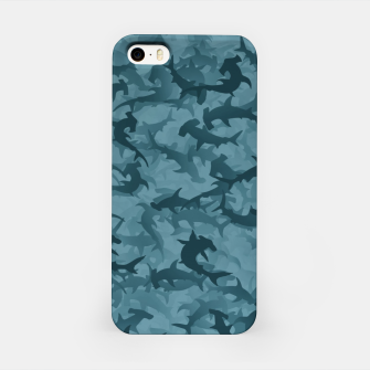Thumbnail image of Hammerhead sharks camouflage  iPhone Case, Live Heroes
