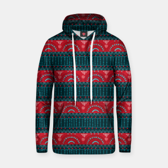 Thumbnail image of Tribal Pattern - 10 Red Bands Hoodie, Live Heroes
