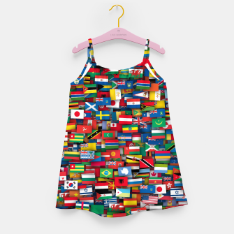 Miniature de image de Flags of all countries of the world Girl's dress, Live Heroes