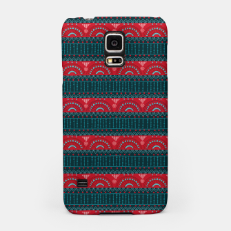 Tribal Pattern - 10 Red Bands Samsung Case thumbnail image