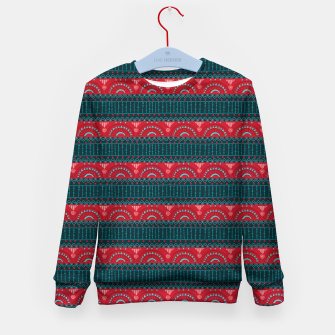 Tribal Pattern - 10 Red Bands Kid's sweater thumbnail image