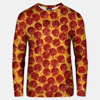 Thumbnail image of Pepperoni pizza Unisex sweater, Live Heroes