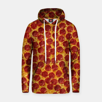 Thumbnail image of Pepperoni pizza Hoodie, Live Heroes