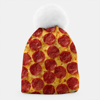Thumbnail image of Pepperoni pizza Beanie, Live Heroes