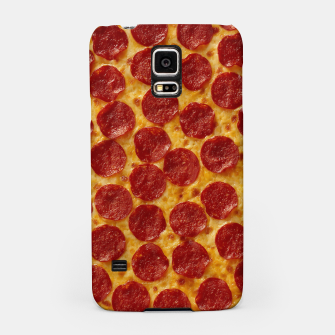 Thumbnail image of Pepperoni pizza Samsung Case, Live Heroes