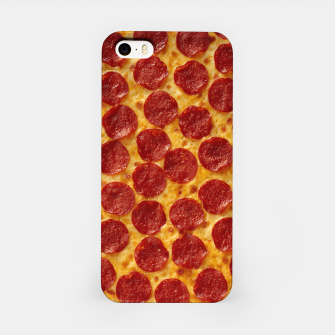 Thumbnail image of Pepperoni pizza iPhone Case, Live Heroes
