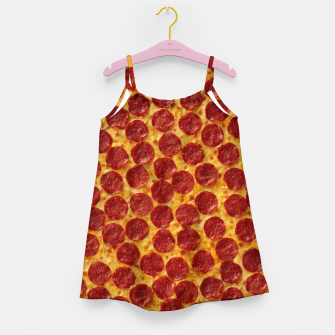 Thumbnail image of Pepperoni pizza Girl's dress, Live Heroes