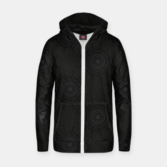 Thumbnail image of 13 - weird pattern, gothic numerology Zip up hoodie, Live Heroes