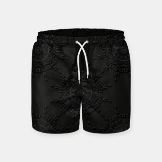 Thumbnail image of 13 - weird pattern, gothic numerology Swim Shorts, Live Heroes