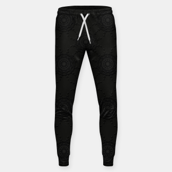 Thumbnail image of 13 - weird pattern, gothic numerology Sweatpants, Live Heroes