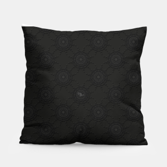 Thumbnail image of 13 - weird pattern, gothic numerology Pillow, Live Heroes