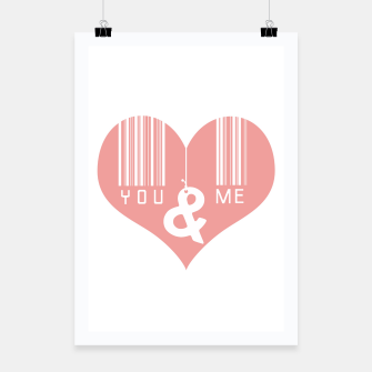 Miniatur You & Me Poster, Live Heroes