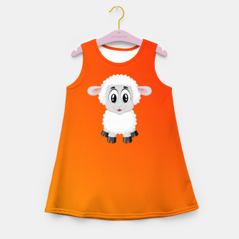 Thumbnail image of Lambkin Girl's summer dress, Live Heroes